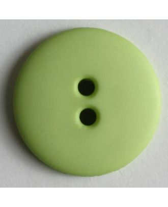 Fashion button - Size: 15mm - Color: green - Art.No. 181046
