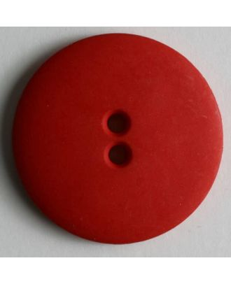 Fashion button - Size: 28mm - Color: red - Art.No. 260452