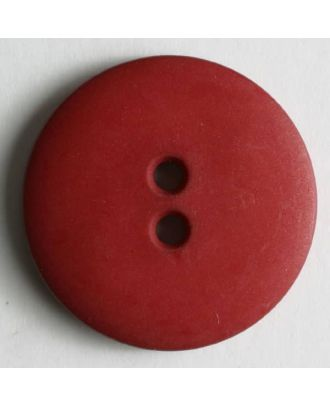 Fashion button - Size: 15mm - Color: red - Art.No. 181047