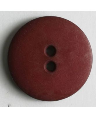 Fashion button - Size: 11mm - Color: red - Art.No. 150208