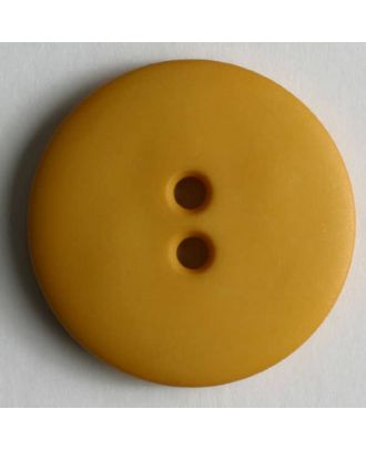 Fashion button - Size: 15mm - Color: yellow - Art.No. 181006