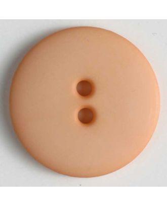 Fashion button - Size: 23mm - Color: orange - Art.No. 221169