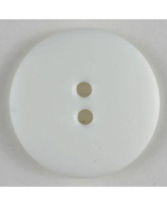Fashion button - Size: 11mm - Color: white - Art.No. 150223