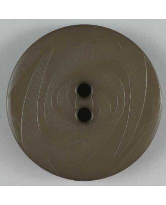 Fashion button - Size: 14mm - Color: beige - Art.No. 190829