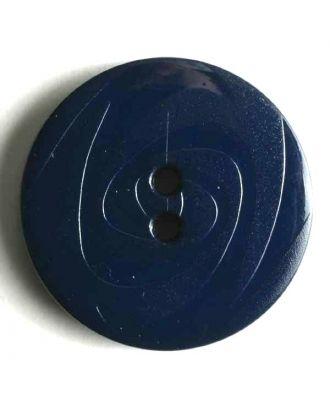 Fashion button - Size: 14mm - Color: blue - Art.No. 190831