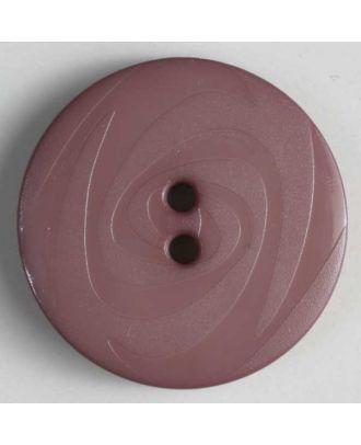 Fashion button - Size: 14mm - Color: lilac - Art.No. 190893