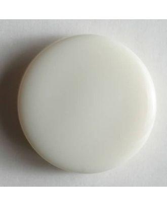 Fashion button - Size: 13mm - Color: white - Art.No. 180191