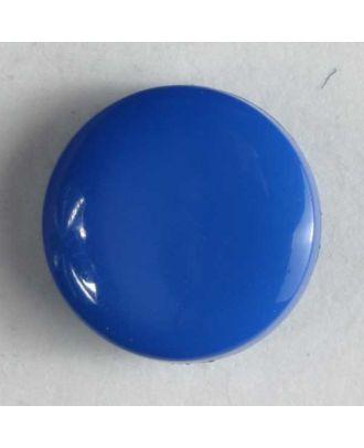 Fashion button - Size: 10mm - Color: blue - Art.No. 150152