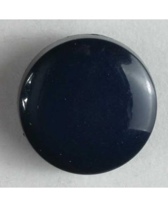 Fashion button - Size: 13mm - Color: blue - Art.No. 180197