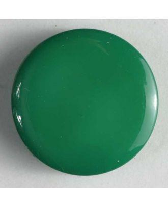 Fashion button - Size: 10mm - Color: green - Art.No. 150157
