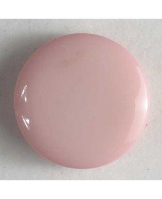 Fashion button - Size: 13mm - Color: pink - Art.No. 180202