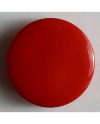 Fashion button - Size: 13mm - Color: red - Art.No. 180212