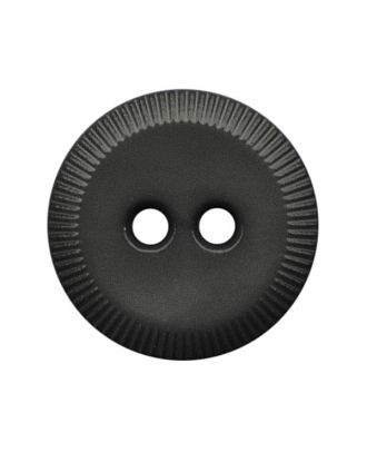 polyamide button round shape with 2 holes - Size: 13mm - Color: grau - Art.No.: 228800