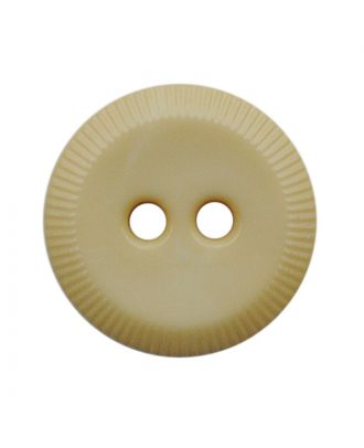 polyamide button round shape with 2 holes - Size: 13mm - Color: hellbeige - Art.No.: 228801