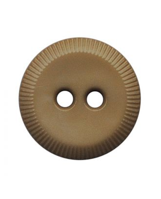 polyamide button round shape with 2 holes - Size: 13mm - Color: beige - Art.No.: 228802