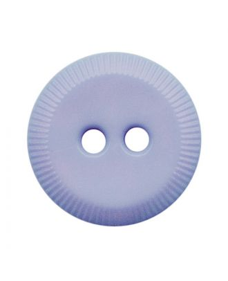 polyamide button round shape with 2 holes - Size: 13mm - Color: hellblau - Art.No.: 228804