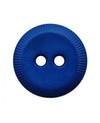 polyamide button round shape with 2 holes - Size: 13mm - Color: blau - Art.No.: 228805