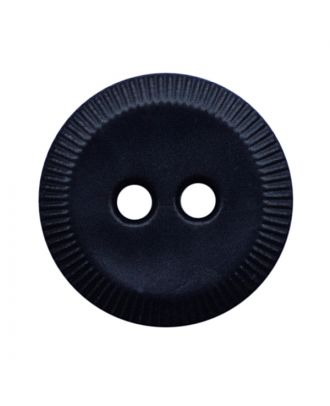 polyamide button round shape with 2 holes - Size: 13mm - Color: dunkelblau - Art.No.: 228806