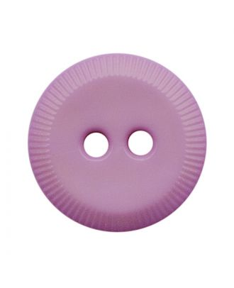 polyamide button round shape with 2 holes - Size: 13mm - Color: flieder - Art.No.: 228807