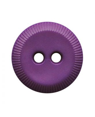 polyamide button round shape with 2 holes - Size: 13mm - Color: lila - Art.No.: 228808