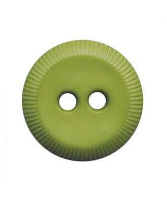 polyamide button round shape with 2 holes - Size: 13mm - Color: hellgrün - Art.No.: 228809