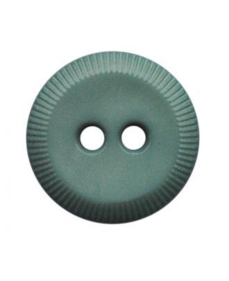 polyamide button round shape with 2 holes - Size: 13mm - Color: grün - Art.No.: 228810