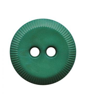 polyamide button round shape with 2 holes - Size: 13mm - Color: grün - Art.No.: 228812