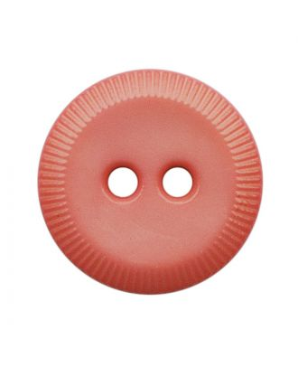 polyamide button round shape with 2 holes - Size: 13mm - Color: pink - Art.No.: 228814