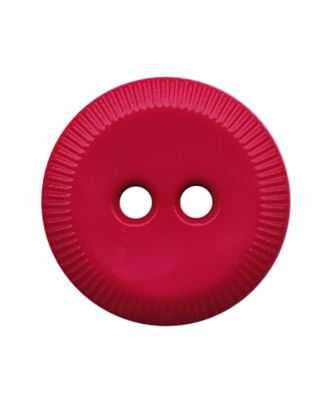 polyamide button round shape with 2 holes - Size: 13mm - Color: pink - Art.No.: 228815