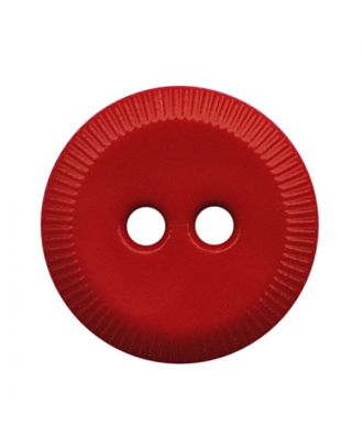 polyamide button round shape with 2 holes - Size: 13mm - Color: rot - Art.No.: 228816