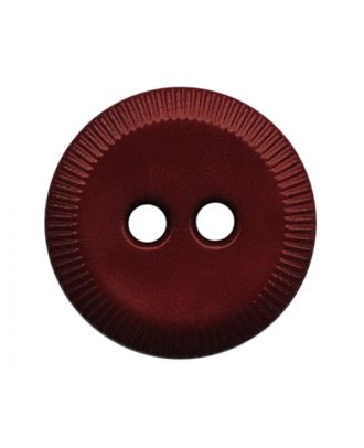 polyamide button round shape with 2 holes - Size: 13mm - Color: weinrot - Art.No.: 228817