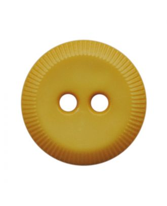 polyamide button round shape with 2 holes - Size: 13mm - Color: gelb - Art.No.: 228818