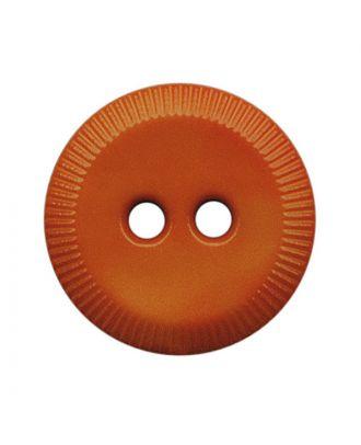polyamide button round shape with 2 holes - Size: 13mm - Color: orange - Art.No.: 228819