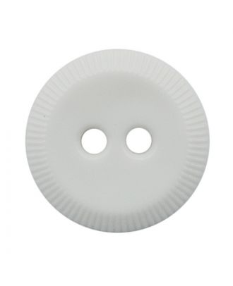 polyamide button round shape with 2 holes - Size: 13mm - Color: weiß - Art.No.: 221967