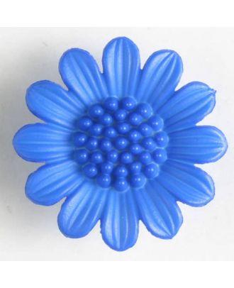 fashion button - Size: 20mm - Color: blue - Art.-Nr.: 280467