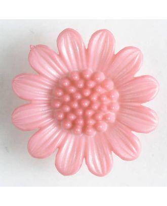 fashion button - Size: 20mm - Color: pink - Art.-Nr.: 280469