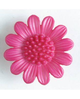 fashion button - Size: 20mm - Color: pink - Art.-Nr.: 280468