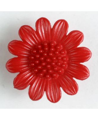 fashion button - Size: 20mm - Color: red - Art.-Nr.: 280953