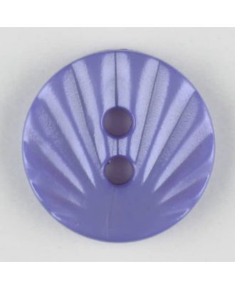 polyamide button, 2 holes - Size: 13mm - Color: lilac - Art.-Nr.: 213713