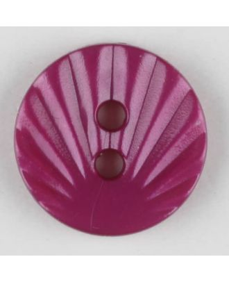 polyamide button, 2 holes - Size: 13mm - Color: lilac - Art.-Nr.: 213715
