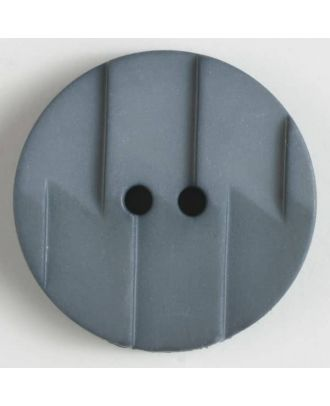 polyamide button 2 holes - Size: 19mm - Color: grey - Art.No. 265600