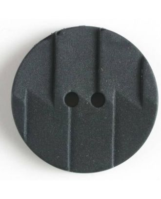 polyamide button 2 holes - Size: 19mm - Color: black - Art.No. 261180