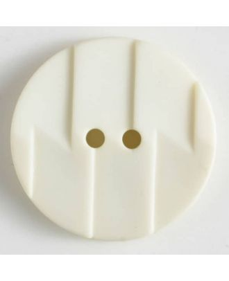polyamide button 2 holes - Size: 19mm - Color: beige - Art.No. 265601