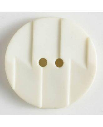 polyamide button 2 holes - Size: 19mm - Color: beige - Art.No. 265601