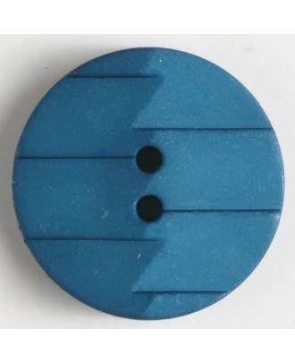 polyamide button 2 holes - Size: 19mm - Color: blue - Art.No. 265626