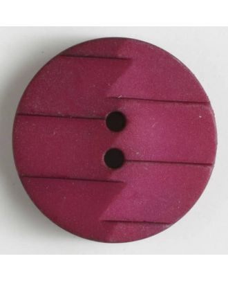 polyamide button 2 holes - Size: 19mm - Color: lilac - Art.No. 265627