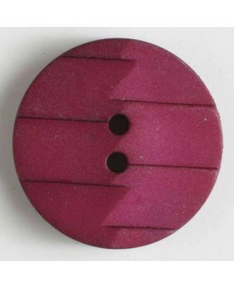 polyamide button 2 holes - Size: 28mm - Color: lilac - Art.No. 345627