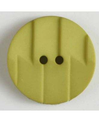 polyamide button 2 holes - Size: 28mm - Color: green - Art.No. 345605