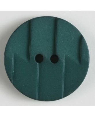 polyamide button 2 holes - Size: 19mm - Color: green - Art.No. 265606