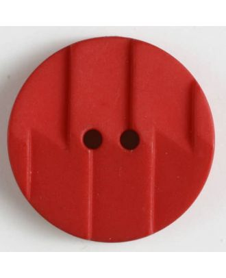 polyamide button 2 holes - Size: 19mm - Color: red - Art.No. 261181